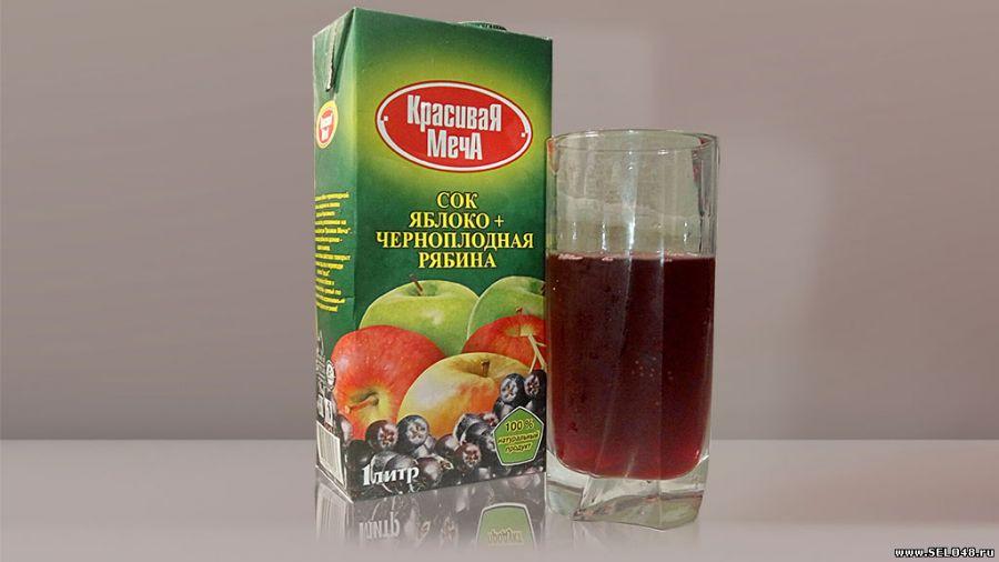 Рецепты сока черноплодной рябины